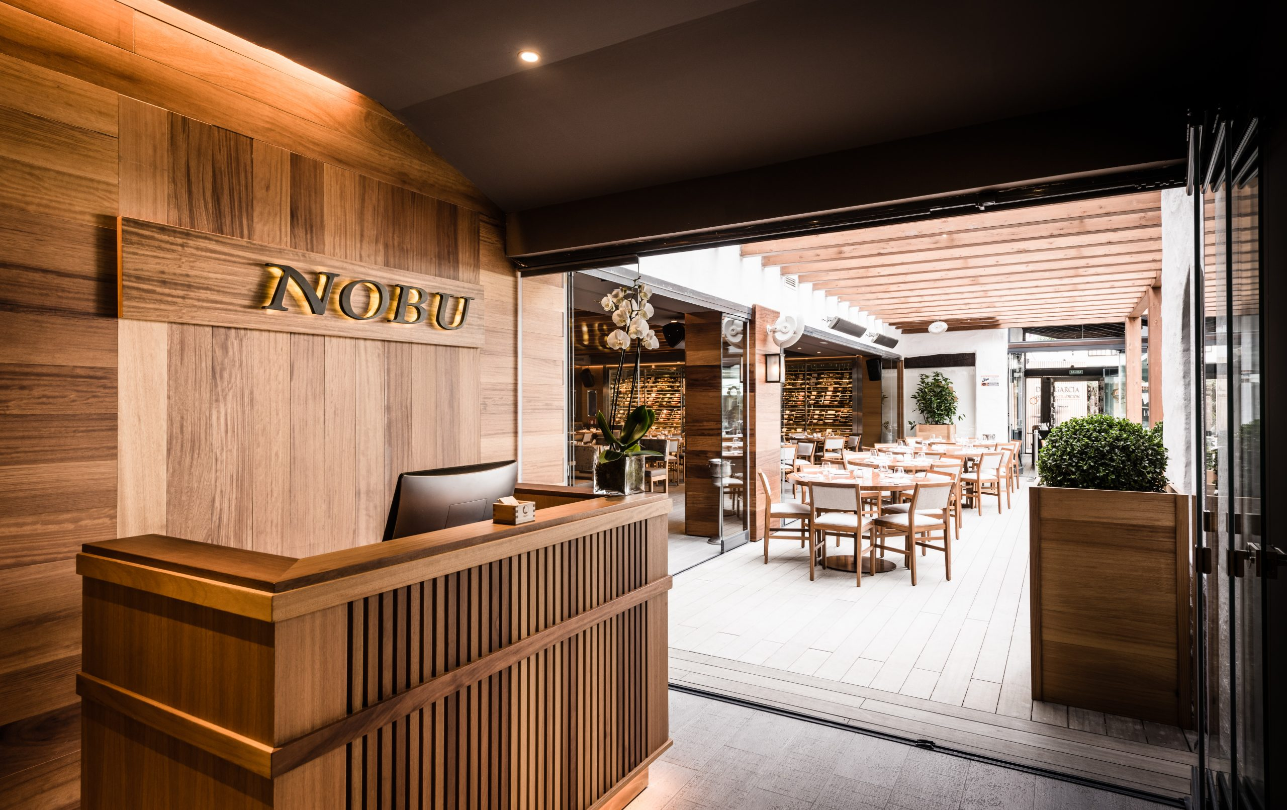 NOBU Interiors and Entrance-6